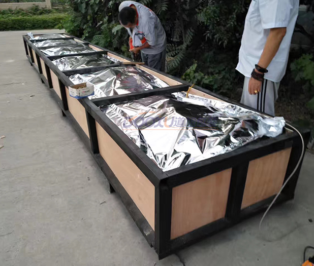 钢结构胶合板防锈木箱