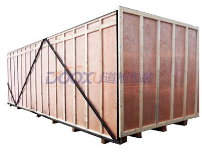 胶合板铁木箱-大型设备包装