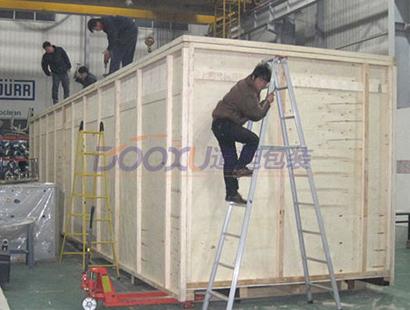 出口重型木箱包装