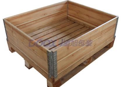 围板箱-可拆叠木箱